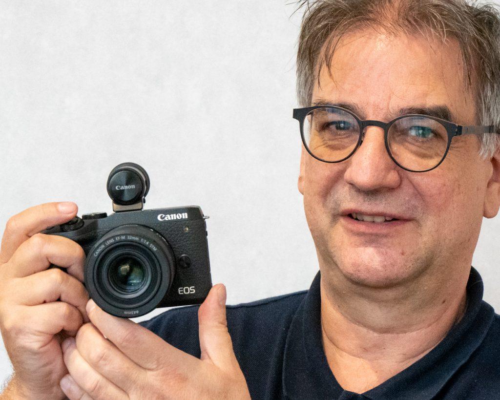 Martin Vieten mit Canon EOS M6 Mark II