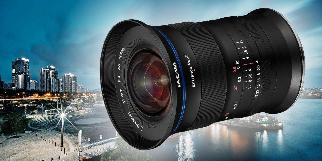 Für Fujifilm GFX: Laowa bringt Super-Weitwinkel 17mm f/4 Zero-D