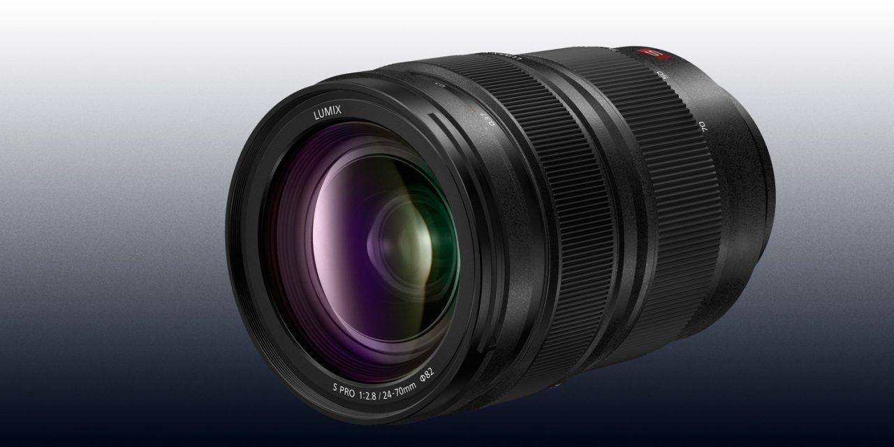 Neu von Panasonic: Standardzoom Lumix S PRO 24-70mm/ F2.8 für L-Mount