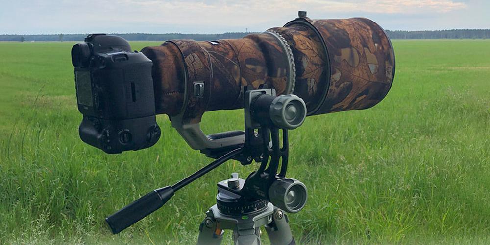 Neu von Rollei: Lion Rock Gimbal für schwere Teleobjektive