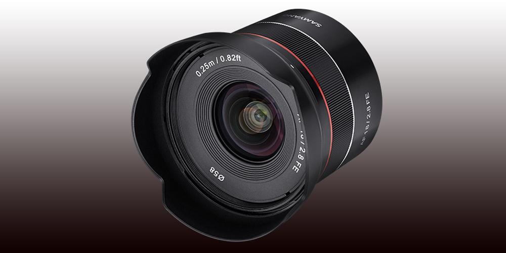 """Samyang bringt """"Tiny"""" AF 18mm F2.8 FE für Sony E"""