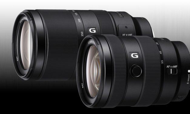 Neu für APS-C: Sony E 16–55 mm F2,8 G und E 70–350 mm F4,5–6,3 G OSS vorgestellt