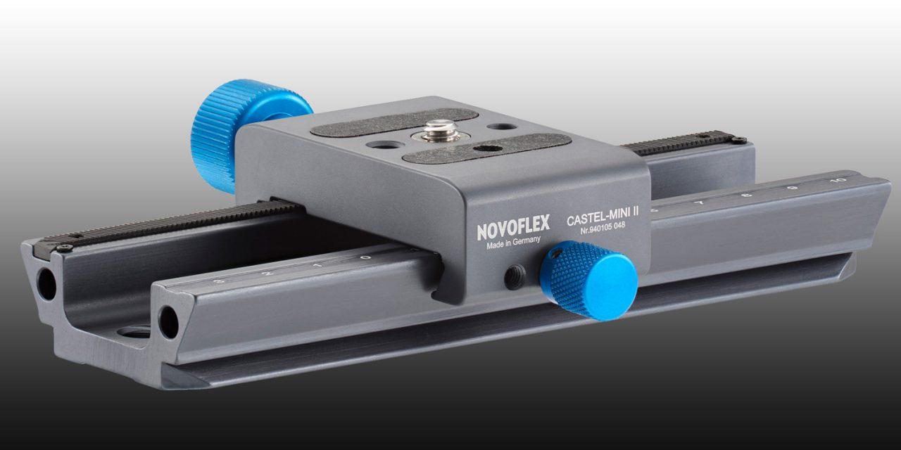 Novoflex bringt erneuerten Einstellschlitten Castel-Mini II