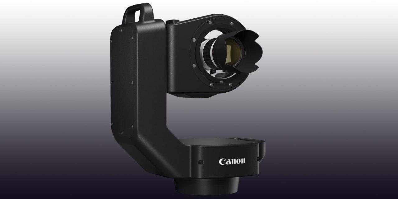Canon entwickelt fernsteuerbares Schwenk- und Neigesystem