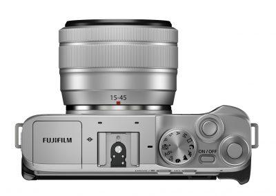 FUJIFILM_X-A7_silver_topLens