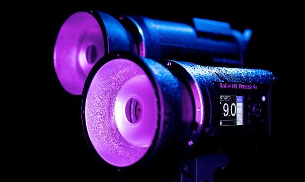 Rollei präsentiert runderneuerte Akkublitze HS Freeze 4s und 6s