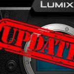 Für Panasonic S1H: Firmware-Update veröffentlicht