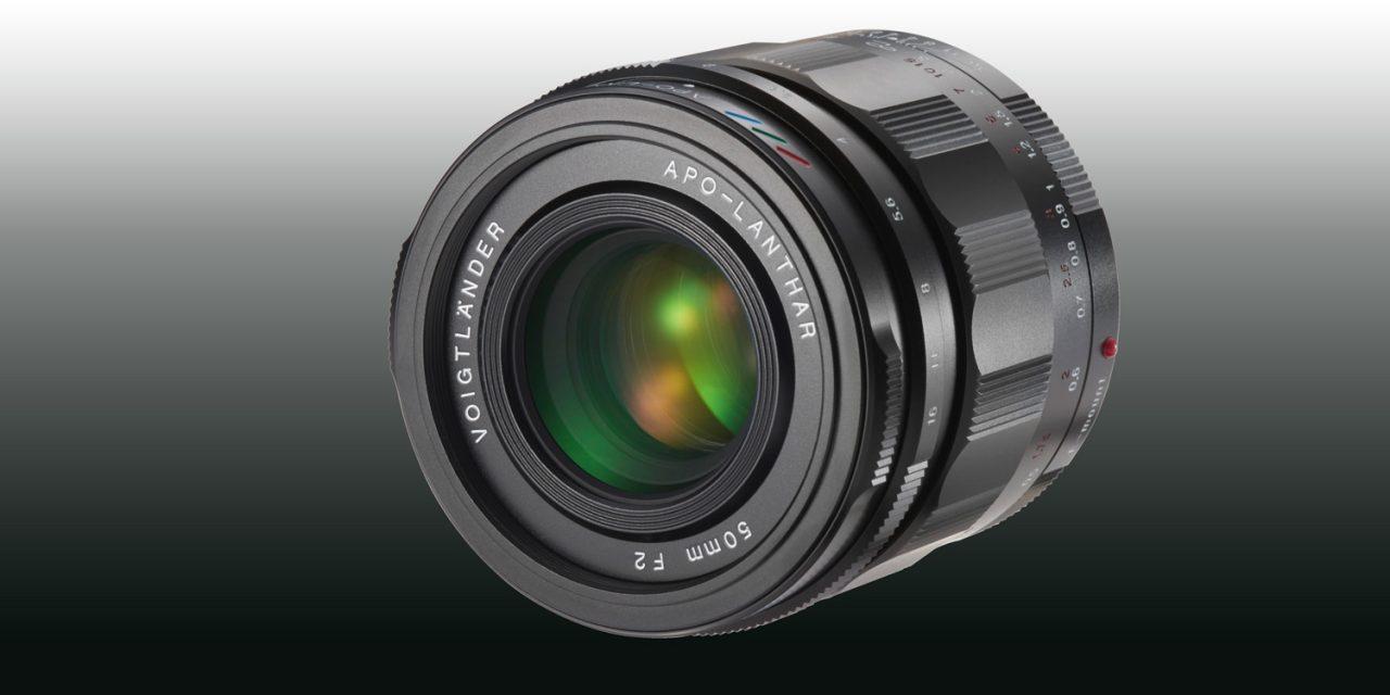 Kommt bald: Voigtländer 50 mm / 1:2,0 APO-LANTHAR für Sony E (aktualisiert)