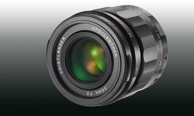 Kommt bald: Voigtländer 50 mm / 1:2,0 APO-LANTHAR für Sony E