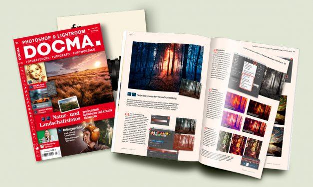 DOCMA 91 – Pflichtlektüre für Photoshopper erschienen