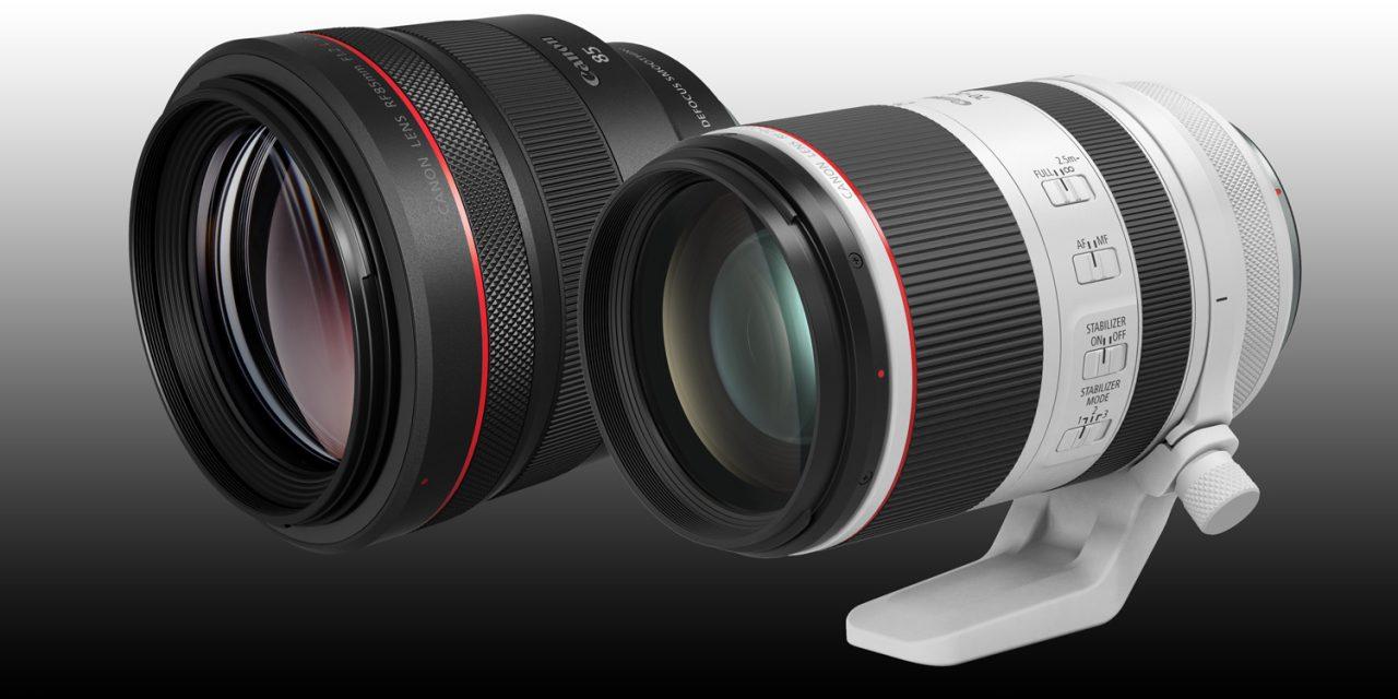 Canon präsentiert RF 70-200mm F2.8L IS USM und RF 85mm F1.2L USM DS