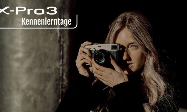 Fujifilm X-Pro3 anfassen und kennenlernen