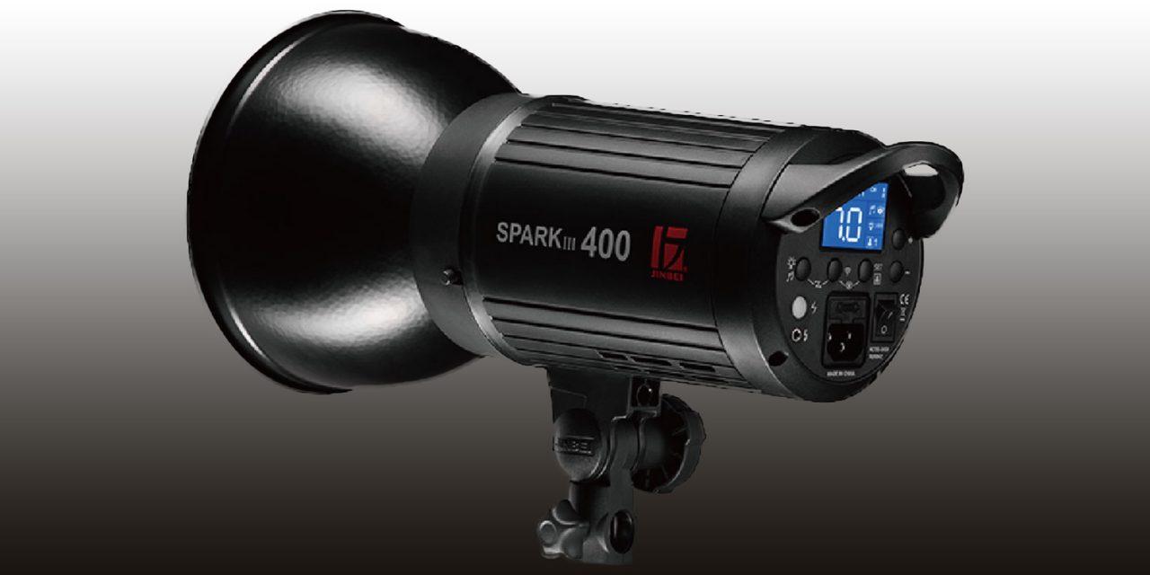 Jinbei Spark III-400: Preisgünstiger Kompaktblitz fürs Heimstudio