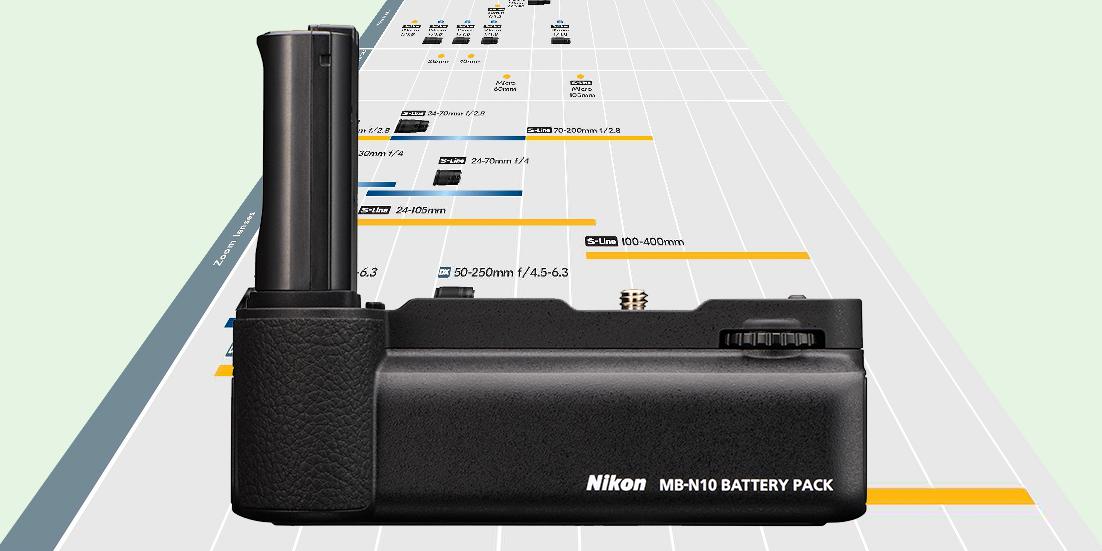 Für Nikon Z: Neue Objektiv-Roadmap veröffentlicht und Batteriegriff MB-N10 vorgestellt