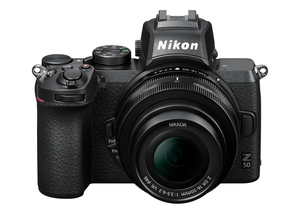 Nikon Z50_16-50DX_3.5-6.3_fronttop