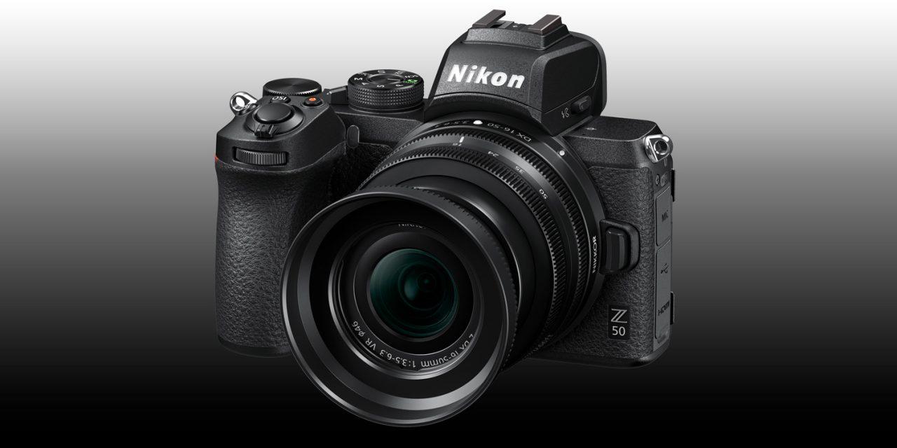 Nikon enthüllt Halbformat-Spiegellose Z 50 mit zwei neuen Objektiven