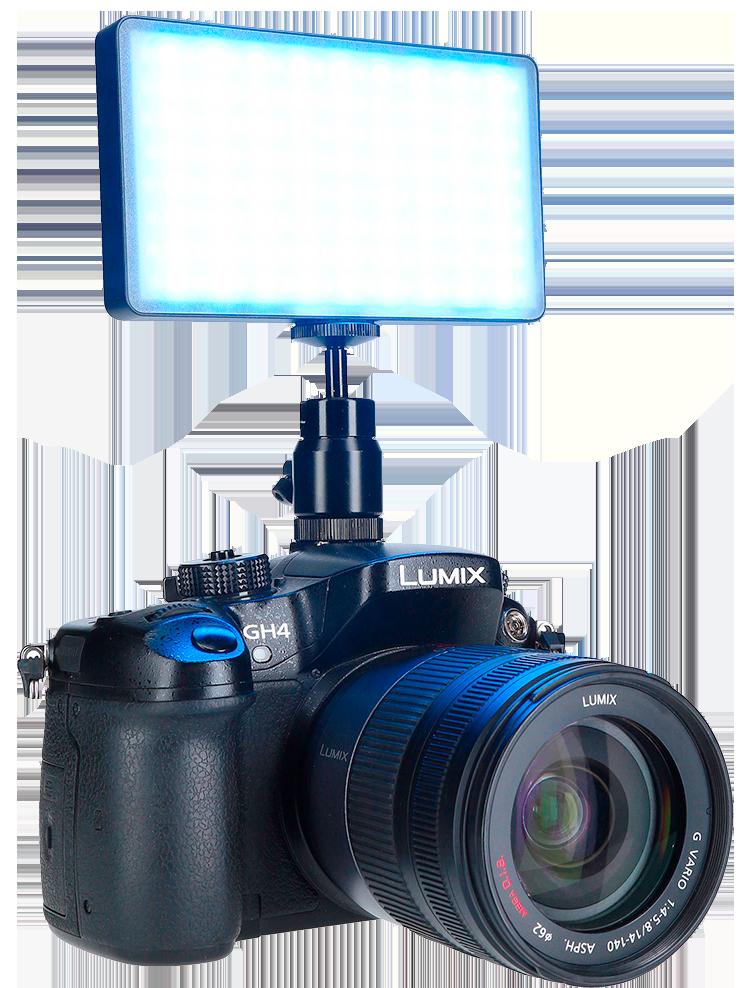 Rollei_Lumen-Pocket-RGB-auf-Kamera_Blau_S