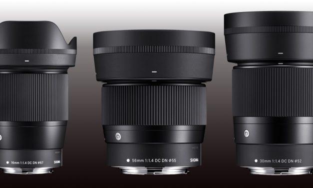 Sigma-Objektive für Canon EOS M sind auf dem Weg