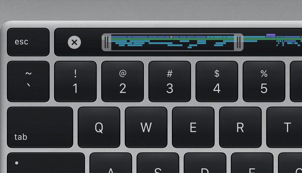 16 Zoll Mac Book Pro Tastatur