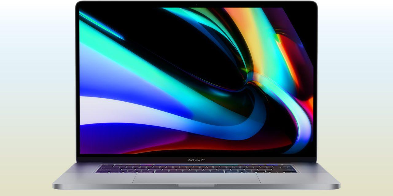 Apple stellt 16-Zoll MacBook Pro mit überarbeiteter Tastatur vor