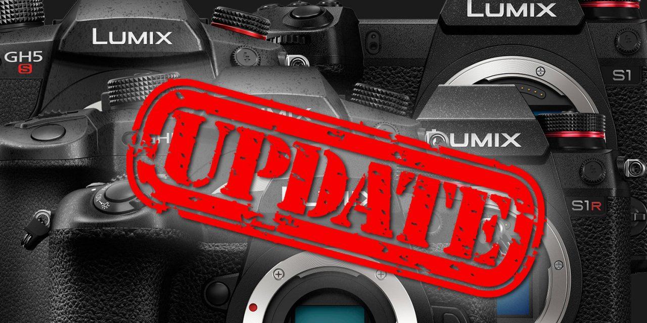 Firmware-Feuerwerk bei Panasonic zündet für Lumix S1R, S1, GH5, GH5S und G9
