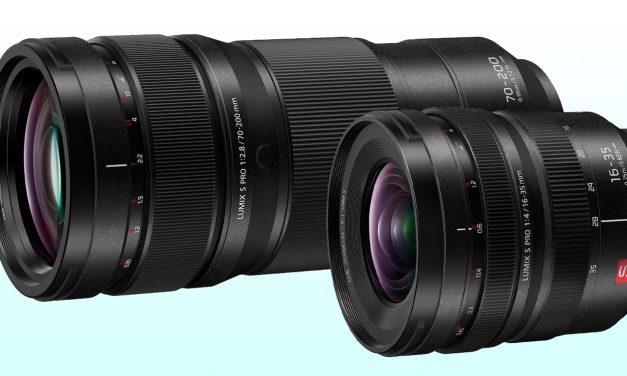 Neu für L-Mount: Panasonic Lumix S Pro 16-35mm F4 und Lumix S Pro 70-200mm F2.8