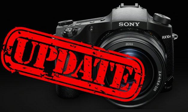 Sony RX 10 IV: Neue Firmware verbessert und erweitert Autofokus
