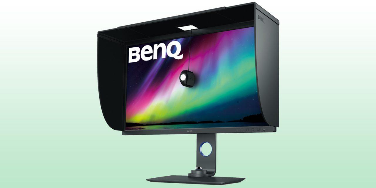 BenQ bringt 32-Zöller PhotoVue SW321C für Fotografen und Bildbearbeiter