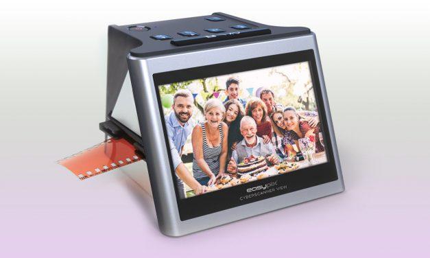 """Easypix stellt günstigen Dia- & Film-Scanner """"Cyberscanner View"""" vor"""