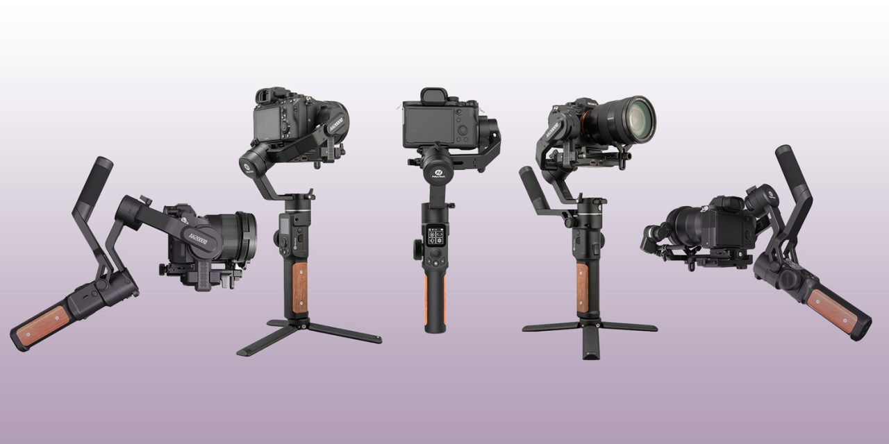 FeiyuTech präsentiert AK2000s Gimbal für DSLR und große Spiegellose