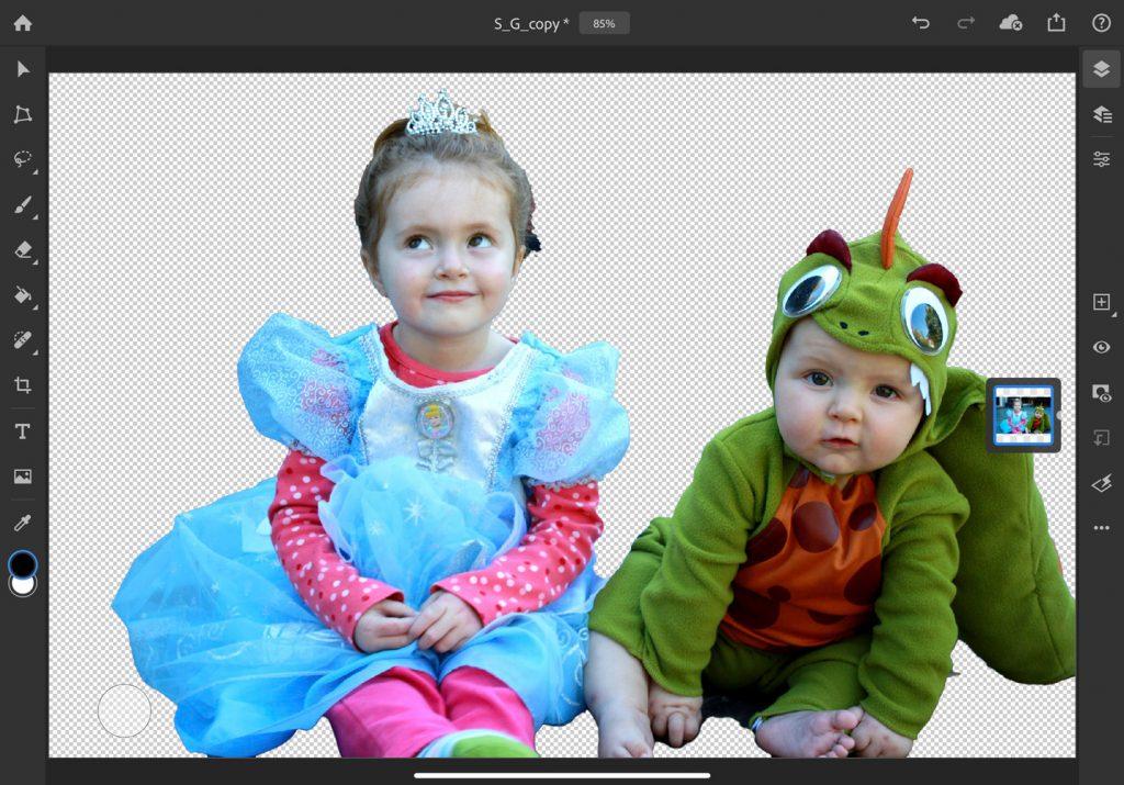 Photosop-iPad-Motivauswahl