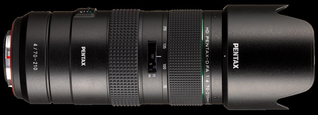 HD PENTAX-D FA 70-210 mm F4 ED SDM WR