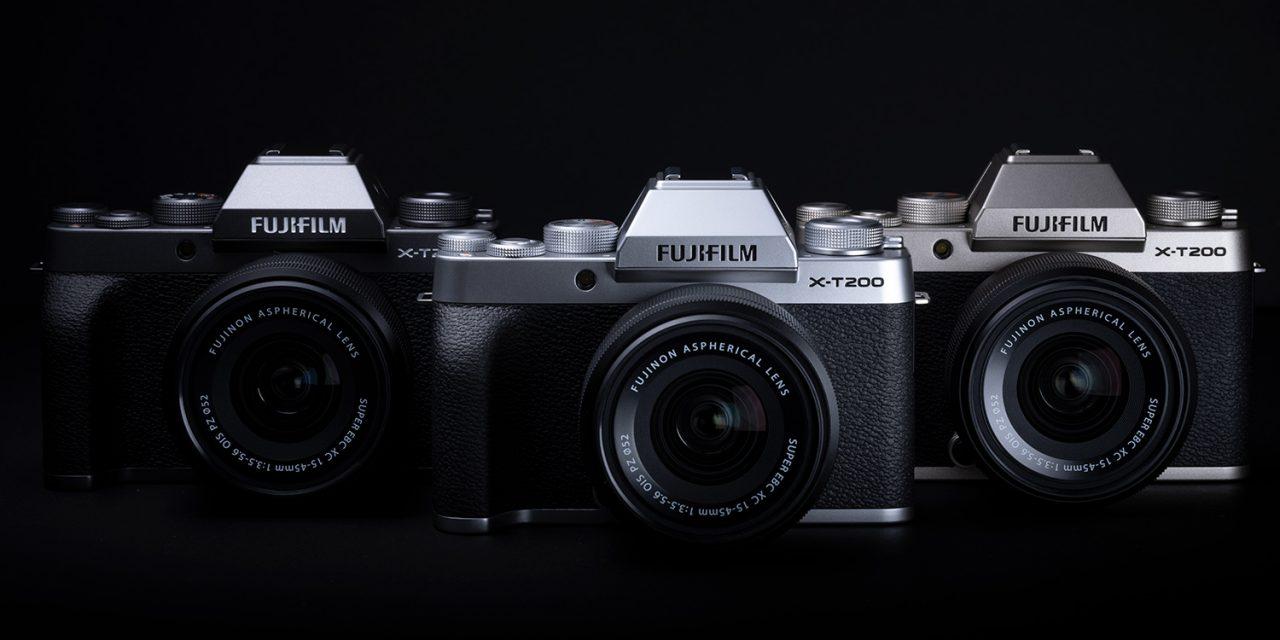 Neu von Fujifilm: X-T200 mit Touch-Bedienung, Normalobjektiv XC 35mm F2