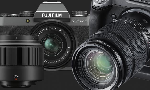 Neu von Fujifilm: Kamera X-T200 für Ein- und Aufsteiger, zwei Objektive
