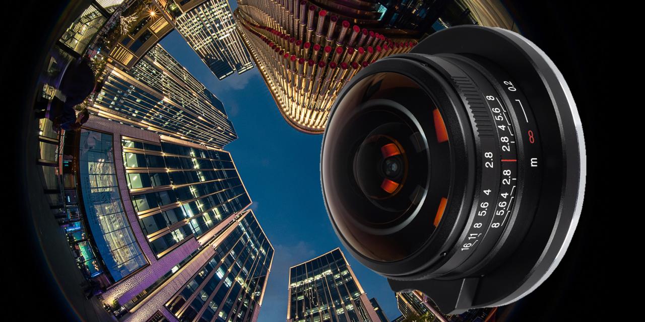 Laowa 4mm f/2,8 Circular Fisheye jetzt auch für APS-C-Kameras