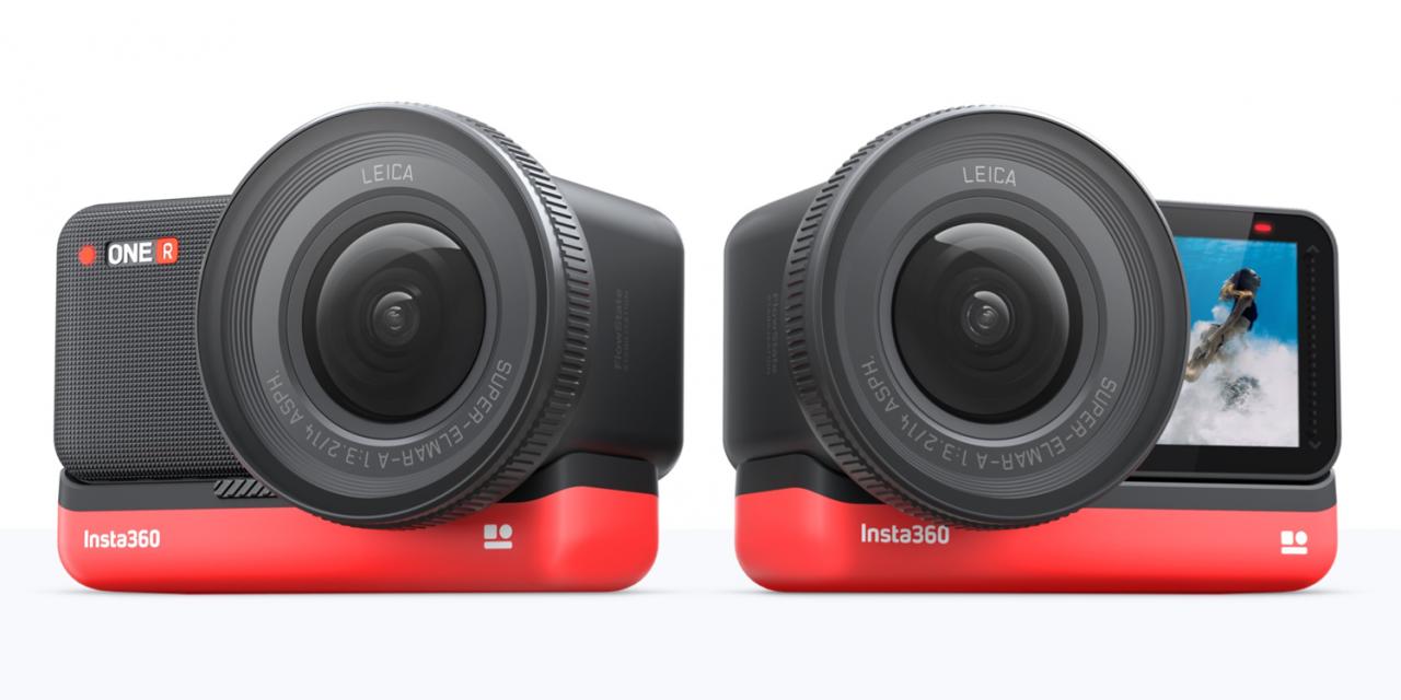 Leica und Insta360 entwickeln modulare Action-Kamera