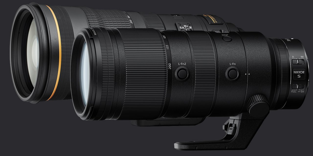 Neu von Nikon: AF-S 120–300 mm 1:2,8E FL ED SR VR und Z 70–200 mm 1:2,8 VR S