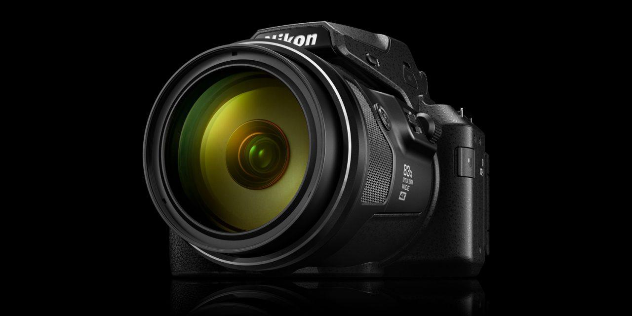 Nikon P950: Superzoomer mit 2000 mm Brennweite, 4K-Video und RAW-Aufzeichnung