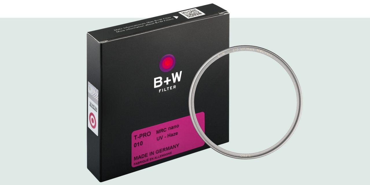 B+W bringt T-Pro-Filterfamilie mit besonders schlanker Fassung