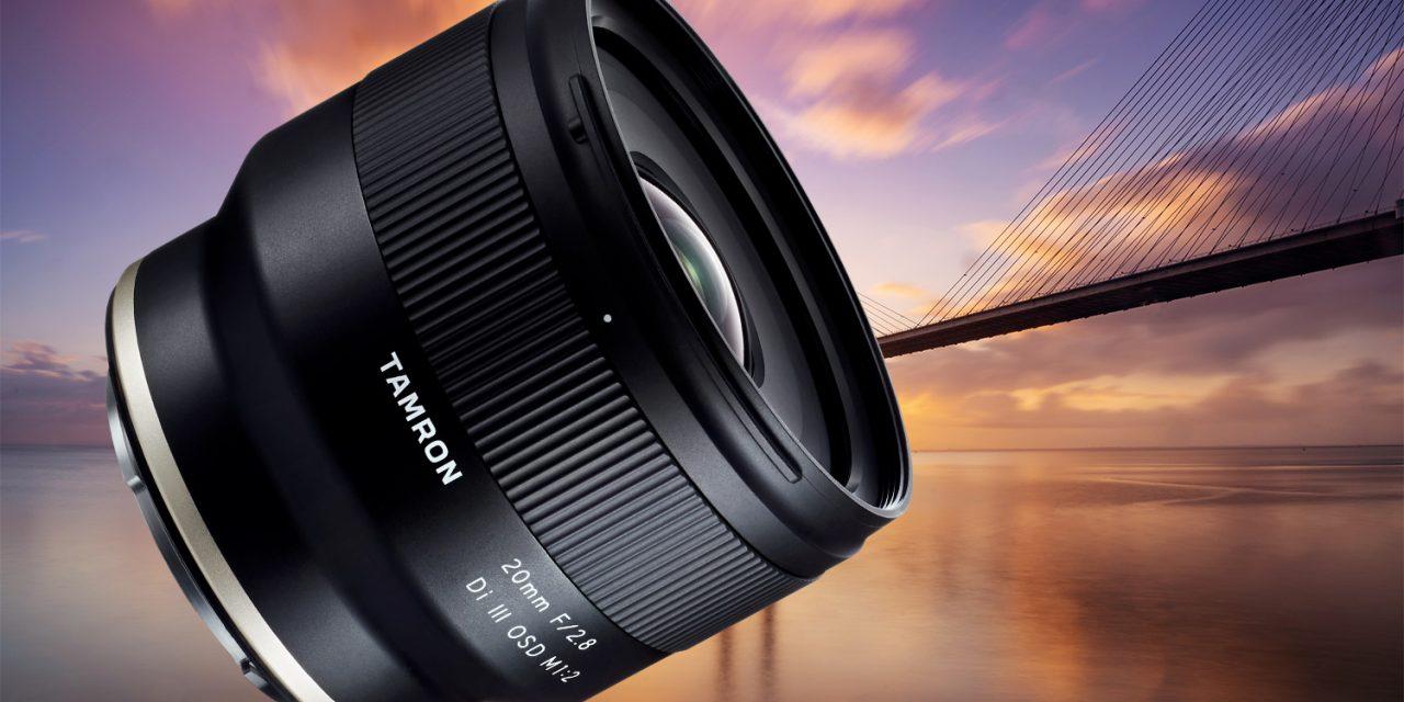 Tamron 20mm F/2.8 Di III OSD für Sony E kommt noch diesen Januar