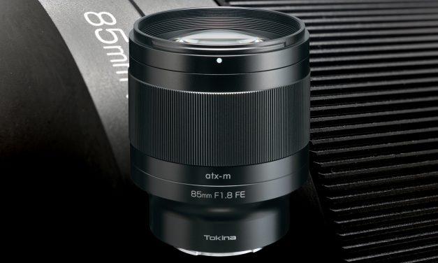 Tokina atx-m 85mm F1.8 FE, neue Porträtbrennweite für Sony E