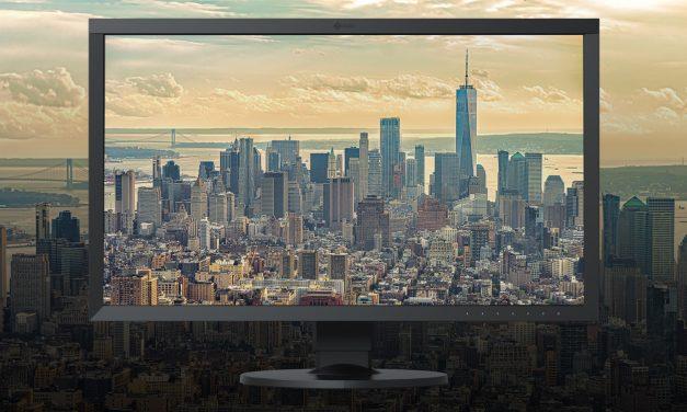 Neu von Eizo: 27-Zoll-Monitor ColorEdge CS2731 für mobile Bildbearbeiter