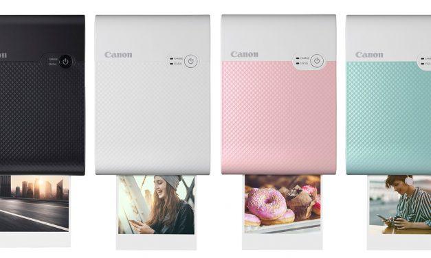 Neu von Canon: Mobiler Fotodrucker Selphy Square QX10