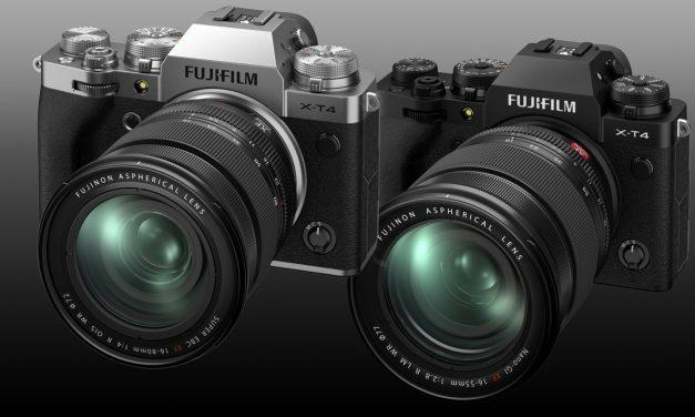 Fujifilm stellt X-T4 mit integriertem Bildstabilisator vor (2x aktualisiert)