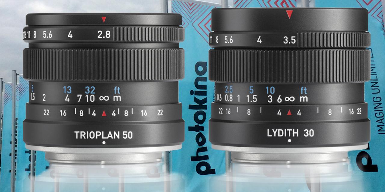 Meyer Optik Görlitz mit sechs neuen Objektiven auf der photokina 2020
