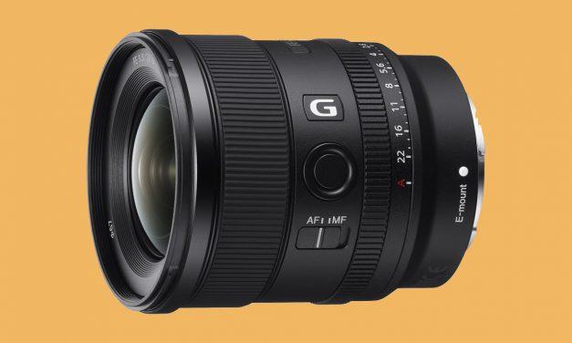 Neu von Sony: Weitwinkelobjektiv FE 20mm f/1.8 G (aktualisiert)