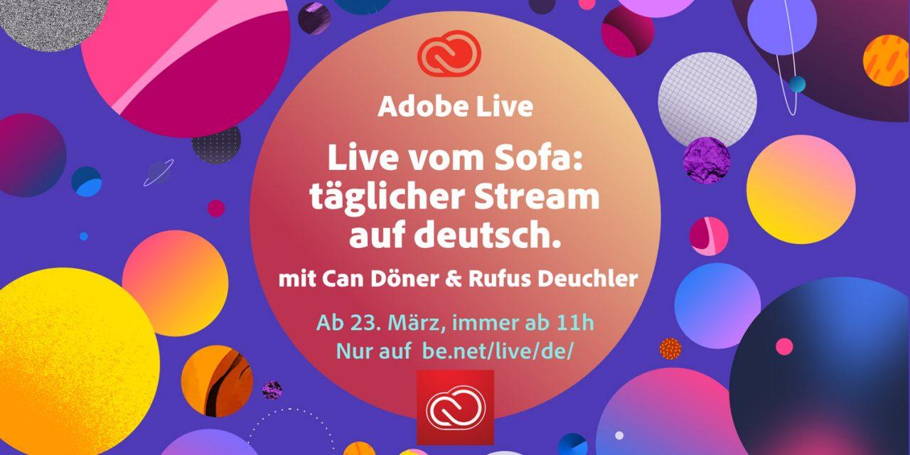 Adobe ist jetzt täglich auf Sendung