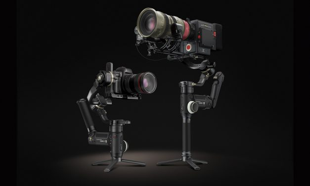 Crane 3S Gimbal für Kameras mit bis zu 6,5 Kilo vorgestellt