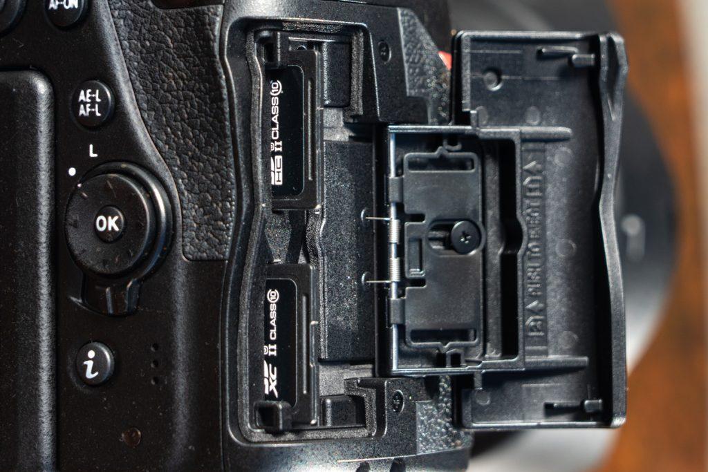 Nikon_D780_Speicherkarten