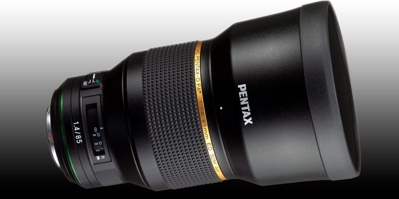 Ricoh entwickelt HD Pentax-D FA★ 85mm F1.4 SDM AW